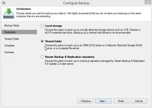 Configure Backup 2