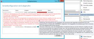 WinRM-Fehlermeldung bei der Erstellung einer SMB-Freigabe