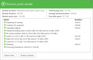 Veeam Incremental Backup