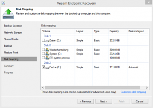 Veeam Endpoint Recovery 3