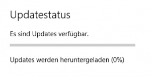 Windows Update Download-Status